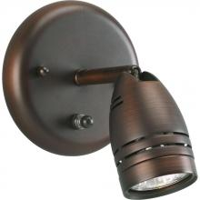 Progress P6154-174WB - One Light Urban Bronze Outdoor Directional Light