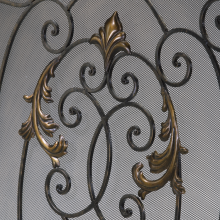 Cyan Designs 01351 - French Fire Screen
