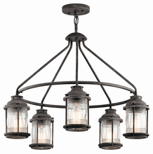 Kichler 49667WZC - Outdoor Chandelier 5Lt