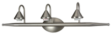 Craftmade 17829BN3 - Three Light Brushed Nickel Vanity
