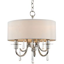 Crystorama 6033-PN-CL-MWP - Crystorama Cody 3 Light Crystal Polished Nickel Mini Chandelier
