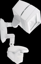 RAB Lighting STL3FFLED18YW - LSTEALTH FFLED18 18W WARM LED WITH STL360 SENSOR WHITE