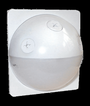 RAB Lighting STUFF500W - TUFF DOME 180 SENSOR 500W 120V WHITE