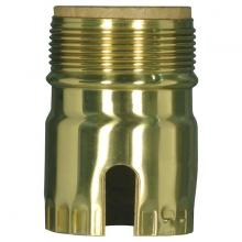 Satco Products Inc. 80/2300 - POL BRS S.B. SHELL W/UNOTHREAD