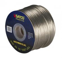 Satco Products Inc. 93/168 - Bulk Wire; 18/2 SPT-2 105°C; 250 Foot Spool; Clear Silver