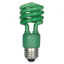 Satco Products Inc. S5513 - 13 Watt Compact Fluorescent Spiral CFL Lamp