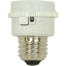 "Satco Products Inc. 90/2610 - Medium to GU24 Adapter E26 - GU24 with Photocell Overall Ext. 11/8"" 60W-120V"