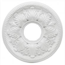 Westinghouse 7775000 - White Finish Bellezza Polyurethane Ceiling Medallion