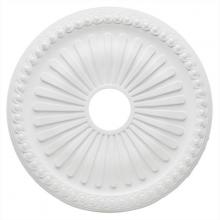 Westinghouse 7775200 - White Finish Soleil Polyurethane Ceiling Medallion