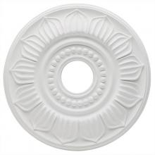 Westinghouse 7775600 - White Finish Francesca Polyurethane Ceiling Medallion
