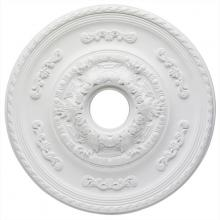 Westinghouse 7775700 - White Finish Sofia Polyurethane Ceiling Medallion
