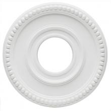 Westinghouse 7776200 - White Finish Colonnade Polyurethane Ceiling Medallion