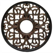 Westinghouse 7776400 - Round Parisian Scroll Antique Bronze Finish Polyurethane Ceiling Medallion