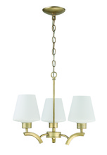 Jeremiah 1123-GT - 3 Light Mini Chandelier