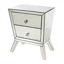 Sterling Industries 114-54 - Mirrored Side Cabinet With 2 Drawers