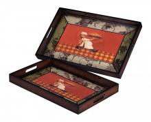 Sterling Industries 118-002 - Set Of 2 Busy Chef Trays