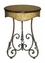 Sterling Industries 26-0247 - Round Curled Leaf Table