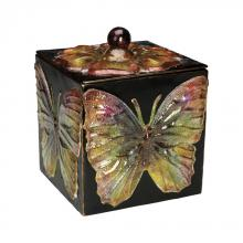 Sterling Industries 51-0608 - BUTTERFLY KEEPSAKE BOX