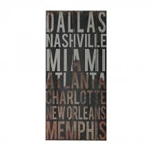 Sterling Industries 51-10116 - American Cities 3-American Cities Wall D