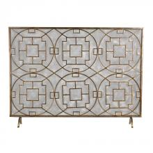 Sterling Industries 51-10160 - Geometric Fire Screen
