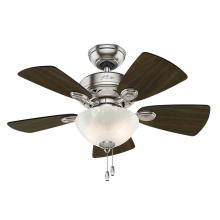 "Hunter 52092 - 34"" Ceiling Fan with Light"