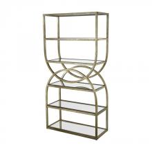 Dimond 1114-258 - Intersecting Rounds Bookcase