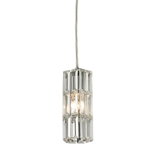 ELK Lighting 31487/1 - Cynthia 1 Light Pendant In Polished Chrome And C