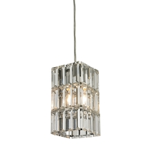 ELK Lighting 31488/1 - Cynthia 1 Light Pendant In Polished Chrome And C