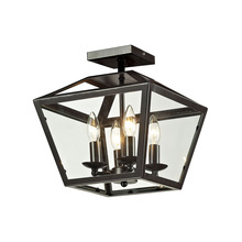 ELK Lighting 31506/4 - Alanna 2 Light Flush Mount In Oil Rubbed Bronze