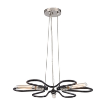ELK Lighting 31902/3 - Continuum 3 Light Chandelier In Silvered Graphit