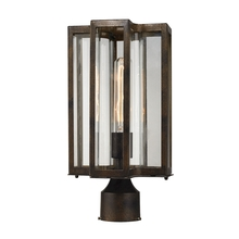 ELK Lighting 45148/1 - Bianca 1 Light Outdoor Post Lantern In Hazelnut