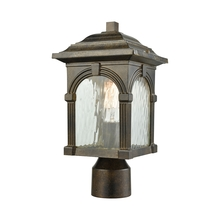 ELK Lighting 45304/1 - Stradelli 1 Light Outdoor Post Mount In Hazelnut