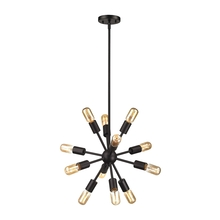 ELK Lighting 46230/12 - Delphine 12 Light Chandelier In Oil Rubbed Bronz