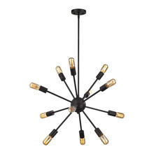 ELK Lighting 46231/12 - Delphine 12 Light Chandelier In Oil Rubbed Bronz