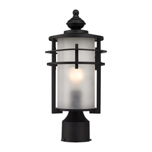ELK Lighting 46252/1 - Meadowview 1 Light Outdoor Post Lantern In Matte