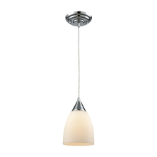 ELK Lighting 56520/1-LA - Merida 1 Light Pendant In Polished Chrome With W