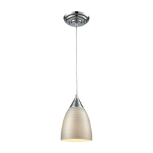 ELK Lighting 56530/1-LA - Merida 1 Light Pendant In Polished Chrome With S