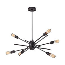 ELK Lighting 66913/6 - Xenia 6 Light Chandelier In Oil Rubbed Bronze
