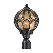 ELK Lighting 87024/1 - Madagascar 1 Light Outdoor Post Lantern In Matte