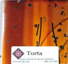 Meyda Tiffany 108479 - Fused Glass Torta Swatch