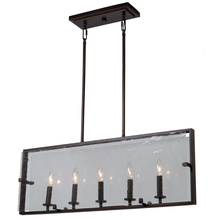 Artcraft AC10304OB - Harbor Point 5 Light  Oil Rubbed Bronze Island Light