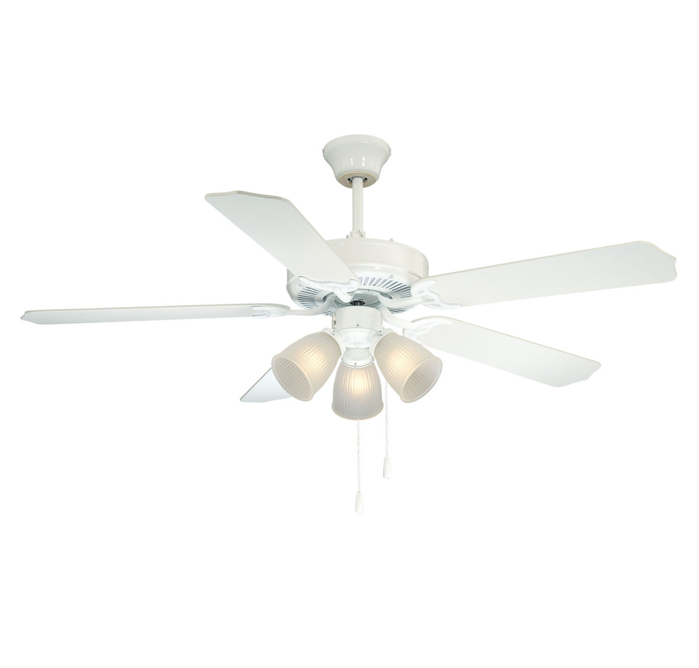 First Value Ceiling Fan : 52-EUP-5RV-WH | Lighting & Design By J&K ...