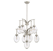 Savoy House 1-541-9-SN - Ravenia 9 Light Chandelier