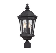 Savoy House 5-5083-BK - Hampden Post Lantern