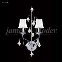 James R Moder 96321AG2BE - Murano Collection 2 Arm Wall Sconce