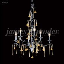 James R Moder 96326AG2EW - Murano Collection 6 Arm Chandelier