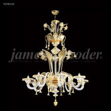 James R Moder 96378GL2E - Murano Collection 8 Arm Chandelier