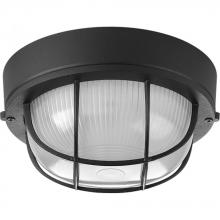 Progress P3709-31 - 1-Lt. Black Flush Mount