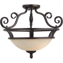 Maxim 12201FIOI - Manor-Semi-Flush Mount