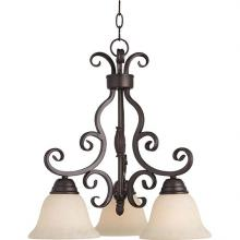 Maxim 12203FIOI - Manor 3-Light Chandelier